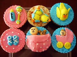 cupcakes para baby shower de fondant archives baby shower diy