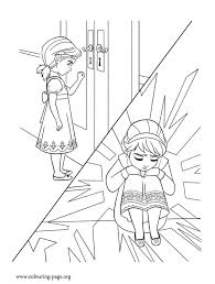 elsa won u0027t play with anna after the accident she is afraid she