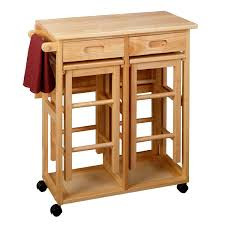 chair furniture photo of folding table with chair storage inside