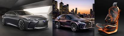 lexus toronto used cars lexus debuts a trio of concepts in canada including the hydrogen