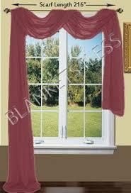 Sheer Swag Curtains Valances Celuce Toile De Fleur Swag Valance Curtains Elegant Curtains By