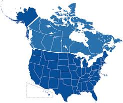 map of us and canada us and canada map of states us and canada map 10 maps update