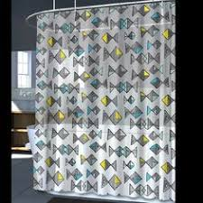 Amazon Com Shower Curtains - splash home blue u0026 green umbrella peva vinyl shower curtain