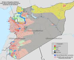 syria on map complete battle map of syria and implemented ceasefire zones the