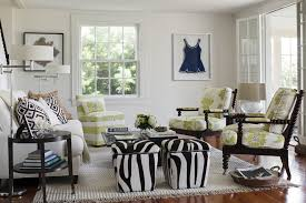 providence zebra ottoman living room eclectic with brown and white