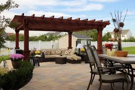 Patio Gazebos Pergolas And Gazebos Beyond The Backyard Country Gazebos