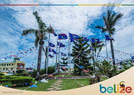 Belize Flag Belize September Celebrations 2017 Villa Verano Hopkins Belize
