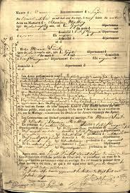 acte mariage acte de mariage 1817 1e10 expositions virtuelles historiques