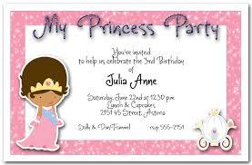 birthday invitations ethnic princess party invitation princess birthday party invitation