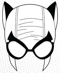 free printable hero masks superhero mask template felt super hero