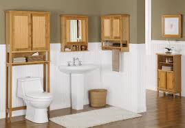 Contemporary Bathroom Shelves Bathroom Stunning Bathroom With Brown Rattan Storage And