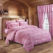 Pink Mossy Oak Comforter Set Pink Camo Bedding Ebay