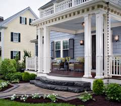 100 portico on colonial house open u0026 shut case how to