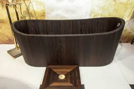 wooden bathtub wooden bathtubs a delight for the senses and your home decor