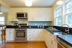 wallpaper for backsplash in kitchen wallpaper backsplash houzz