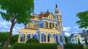 Queen Anne Victorian Three Styles Of Historical Architecture In The Sims 4 Sims 4