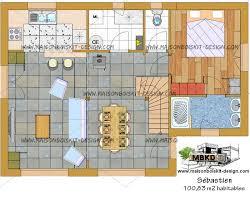 maison avec 4 chambres prix au m2 d une maison en ossature bois en kit moderne de 100 m2