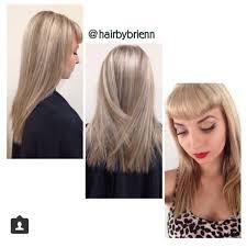 blonde hair with silver highlights silver ash blonde highlights hair color modern salon