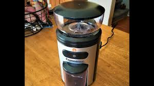 Kitchenaid Burr Coffee Grinder Review Espressione Professional Conical Burr Grinder Review Youtube