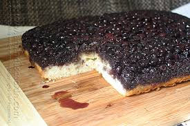 easy blueberry upside down cake amanda u0027s cookin u0027