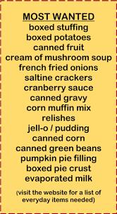 thanksgiving food list item divascuisine