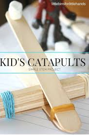 popsicle stick catapult ideas for kids stem activity stem
