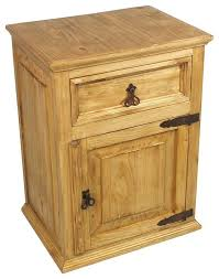 Traditional Nightstands Innovative Rustic Pine Nightstand Rustic Pine Side Table