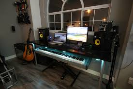 ikea gaming desktop desk ideas diy setup hack cool computer setups