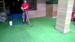 Outdoor Artificial Grass Rug Pub Night Club Astro Turf Carpet Cleaning Youtube