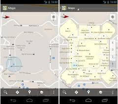 give me a map of my location maps for android aim to give you indoor view of airports malls