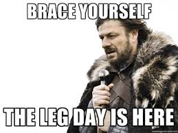 Leg Day Meme - funny leg day pictures and images get a good laugh jersey girl
