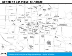 Map Of Guanajuato Mexico by San Miguel De Allende Maps Printable Travel Maps From Moon Guides