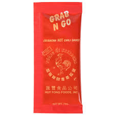 sriracha 2 go condiment packets condiment portion control packs bulk