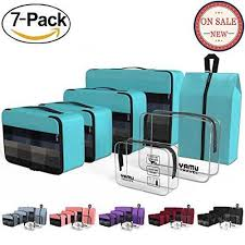 Packing cubes yamiu travel luggage organizer bags travel