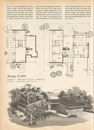 mid century modern floor plans vintage house plans mid century house plans design j 468