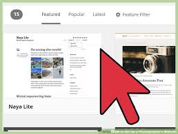 s website how to set up a photographer s website 15 steps with pictures
