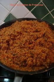 cuisiner le boulgour boulghour à la sauce tomate dans la cuisine de françoise