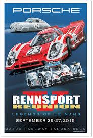 porsche car 2015 rennsport reunion v september 25 27th 2015 home