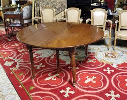 a fine u0026 rare louis xvi directoire mahogany dining table by claude