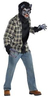 Werewolf Mask Rabid Werewolf Costume 844219 55 Fancy Dress Ball