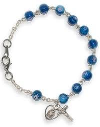 rosary bracelets glass bead rosary bracelets