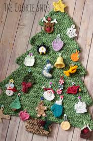 christmas tree advent calendar crochet pinterest advent