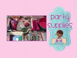 doc mcstuffin party supplies 1st birthday doc mcstuffins party supplies