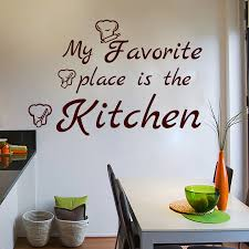 Kitchen Chef Decor by Online Get Cheap Chef Wall Decals Aliexpress Com Alibaba Group