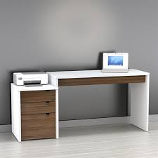 Modern Desks With Drawers White Corner Desk Montserrat Home Design Useful Ideas To