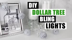 Real Deals On Home Decor Ogden Ut Diy Dollar Tree Bling Decor Lights Diy String Lights Tutorial