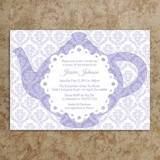 bridal tea party invitation wording tea party invitation tea party invite baby shower invitation