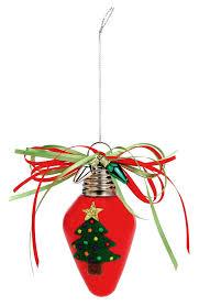nicole crafts felt christmas tree bulb ornament ornaments craft
