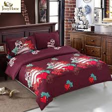 popular red bed comforter buy cheap red bed comforter lots from