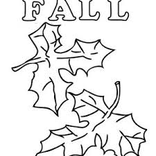 how to draw autumn leaves coloring page color